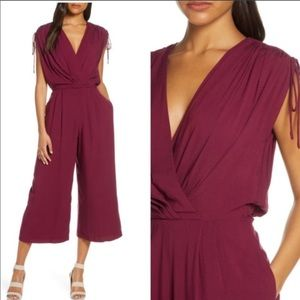 Gal Meets Glam Luella Crop Jumpsuit